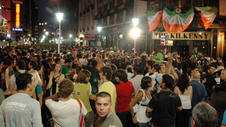 Saint Patricks Day Buenos Aires